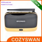 China Wifi 4k Android Smart TV Box H918A Android 4.2.2 TV Boxes XBMC Quad Core ARM Cortex-A7 wholesale