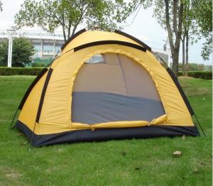 China Single Layer 2-3 Person Camping Tent Pop Up Tent for Outdoor Sports Hot Selling(HT6058) on sale