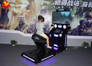 China Cool Motion Single Seat HTV VIVE Glasses VR Horse Racing Simulator Shooting Virtual Reality Cinema on sale