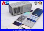 Labels Boxes For 10ml Vials Custom Pharmacy Steroids Designs Laser Holographic Metalic Blue Box