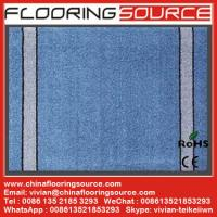 Cut Pile Carpet Entrance Floor Mat  polypropylene fibers pvc bakcing