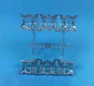 China Acetal Copolymer POM Plastic LED Lamp Case Parts Injcetion Molding Custom Made on sale