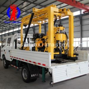 China XYC-200 vehicle-mounted hydraulic core drilling rig machine Supplier For  China on sale