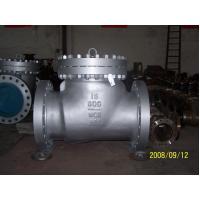 OEM WCB / LCB / LCC case steel swing check valve, class 150 / 300 / 600