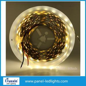 China Las luces de tira llevadas alto lumen de FUSXIN DC12V calientan el blanco 3528 Epistar llevado 300 on sale