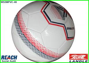 China Smooth Soft 32 Panels Round PU Synthetic Football Soccer Ball OEM Own Logo Printing Size 1 Footballs on sale