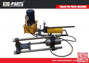 China 100/150/200Ton Portable Hydraulic Track Link Pin Pusher Machine For Excavator&Dozer on sale