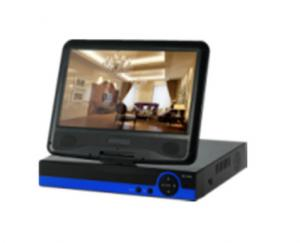 China 10 Inch Screen AHD DVR Recorder 1080P 12V/2A Low Power Consumption on sale