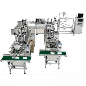China Auto 3 Ply Nonwoven Disposable Face Mask Making Machine / Medical Mack Machine on sale