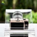 Countertop Acrylic Shop Display Transparent Clear Acrylic Camera Display Rack