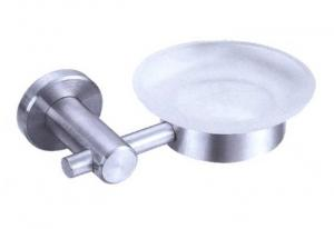 China satin stainless steel wall mounted soap dish holders on sale