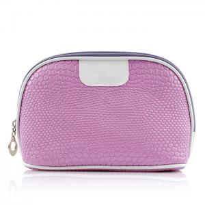 China Fashionable Travel Cosmetic Bags Shell Shape 22x14.5x8 CM size For Ladies on sale