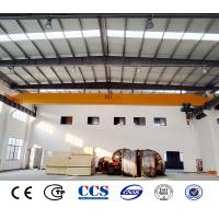 China 10 Ton Wireless Remote Control Single Girder Bridge Crane For Steel Mill Single Beam Overhead Crane 5 Ton on sale