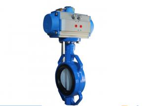 China Aluminum Alloy High Torque Rotary Actuator , Double Acting Butterfly Valve Actuator on sale