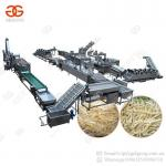 Factory Price Full Automatic Sweet Frozen French Fries Frying Processing Line Plant Potato Chips Making Machine for Sale