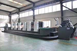 China Intermittent Offset Label Printing Machine , 4 Colour Offset Printing Machine on sale