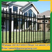 Laverton Cheap wrought iron fence panels front yard Fence panels square tube fencing
