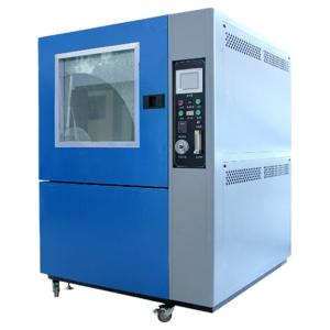 China Window Manual Control Sand Testing Equipment , Dust Testing Chamber Wiper Blowing on sale