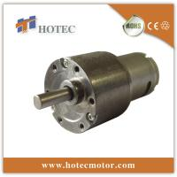 China low backlash 37mm geared dc motor with encoder on sale