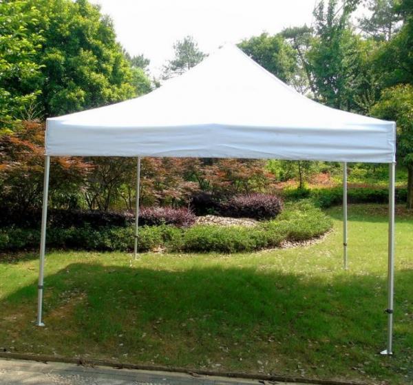 White Backyard Gazebo Tent UV Resistant For Beach / Backyard Camping  Parties Images - White Backyard Gazebo Tent UV Resistant For Beach / Backyard Camping