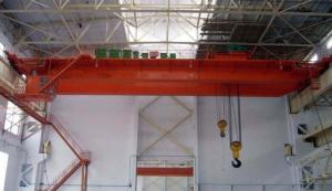 China QB Explosion proof double girder overhead cranes with hook on sale