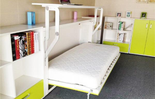 hidden beds in furniture. Melamine Finish Fold Away Horizontal Wall Bed Single Hidden Images Beds In Furniture