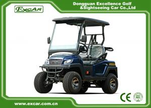 China Four Wheel Fuel Type 48 Volt Electric Golf Carts 2 Seater , Charging Time 8-10 Hours on sale