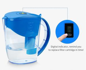 China AS Material Body Brita Classic Water Jug , Portable Alkaline Water Pitcher on sale
