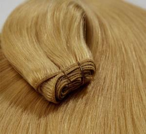 China China Human Hair Extension/ 100% Straight Brown Remy Human hair weft on sale