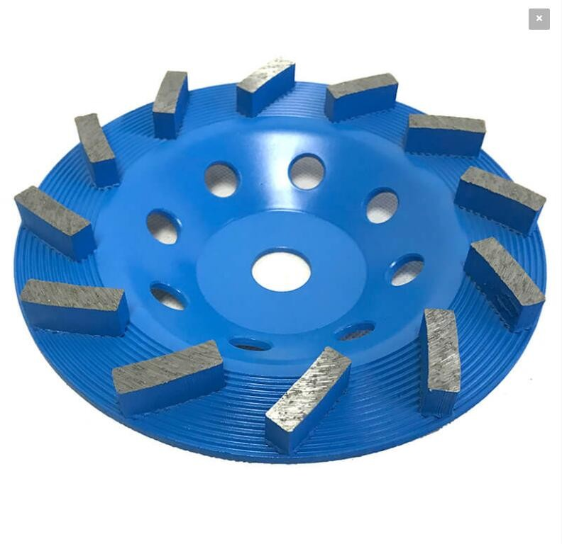 4 Inch Diamond Turbo Cup wheel 3 PIECE Grinding Granite Stone Concrete terrazzo