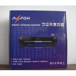 China South America 1080P HD Satellite Receiver DVB-S2 AZ Fox S2S Support DVB EN300743 and EBU on sale