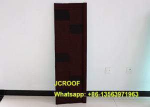 China Kenya Corrugated Metal Roofing Sheets Hail-Resistance 0.42 Mm Shake Tile on sale