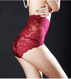China High waits lace underwear for young women   Fashion  shapewear on sale