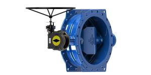 China Ductile Iron Double Butterfly Valve , Bearing - CS Base Butterfly Valve Flange Type on sale