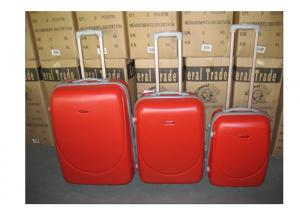 China Travelling ABS 2 Wheel Trolley Luggage Set Zipper Framed With Iron Trolley on sale