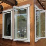 China House building materials Custom Aluminium Windows Powder coated Surface treatment wholesale