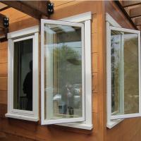 House building materials Custom Aluminium Windows Powder coated Surface treatment
