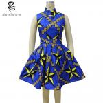 Wax Printed African Print Traditional Designer Maxi Dresses Fashionable