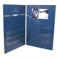 VIDEO IN FOLDER Factory supply customized Hot 5 inch TFT screen video brochure video folder in print