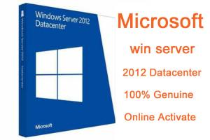 China 64 bit Microsoft Windows Server 2012 Datacenter Download Genuine E-Mail Format on sale