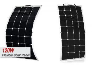 Quality 120 Watt RV Solar Panels 12v Flexible Portable Solar PowerFor RV Trailers for sale