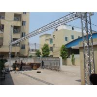 China Indoor Lightweight Truss Goal Post Hotel Wedding Aluminum Light Stand Double Link on sale