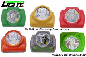 China Ultra Bright Cordless LED Safety Mining Cap Lamp with High Intensity PC Strong Material on sale