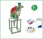 Modelo de máquina semiautomático de alta calidad del ojeteador del color verde no.712E con precio razonable