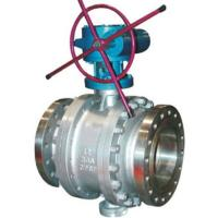 China RF Flanged Fixed Trunnion Mounted Stainless Steel Ball Valves Class 2500 on sale
