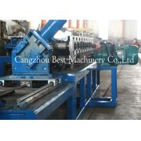 Drywall Metal U Track Frame Roll Foring Machine 3KW 2 Years Warranty