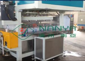 China Recycling Paper Double Roller Egg Carton / Egg Tray Pulp Moulded Machine on sale