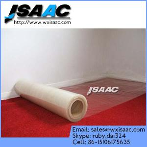 China Competitive Price Plastic Protective Films For Carpet on sale