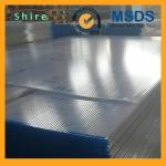 China Durable Recycable PE / PP Hollow Plastic Sheet Protective Film 2100mm Milky White wholesale