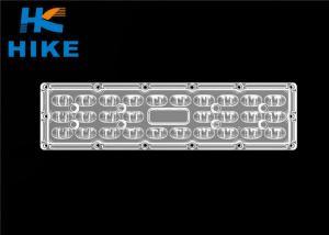 China Type II PCB LED Lamp Lens 28 In 1 For 4pcs 3030 LED / 1pc 5050 Led on sale